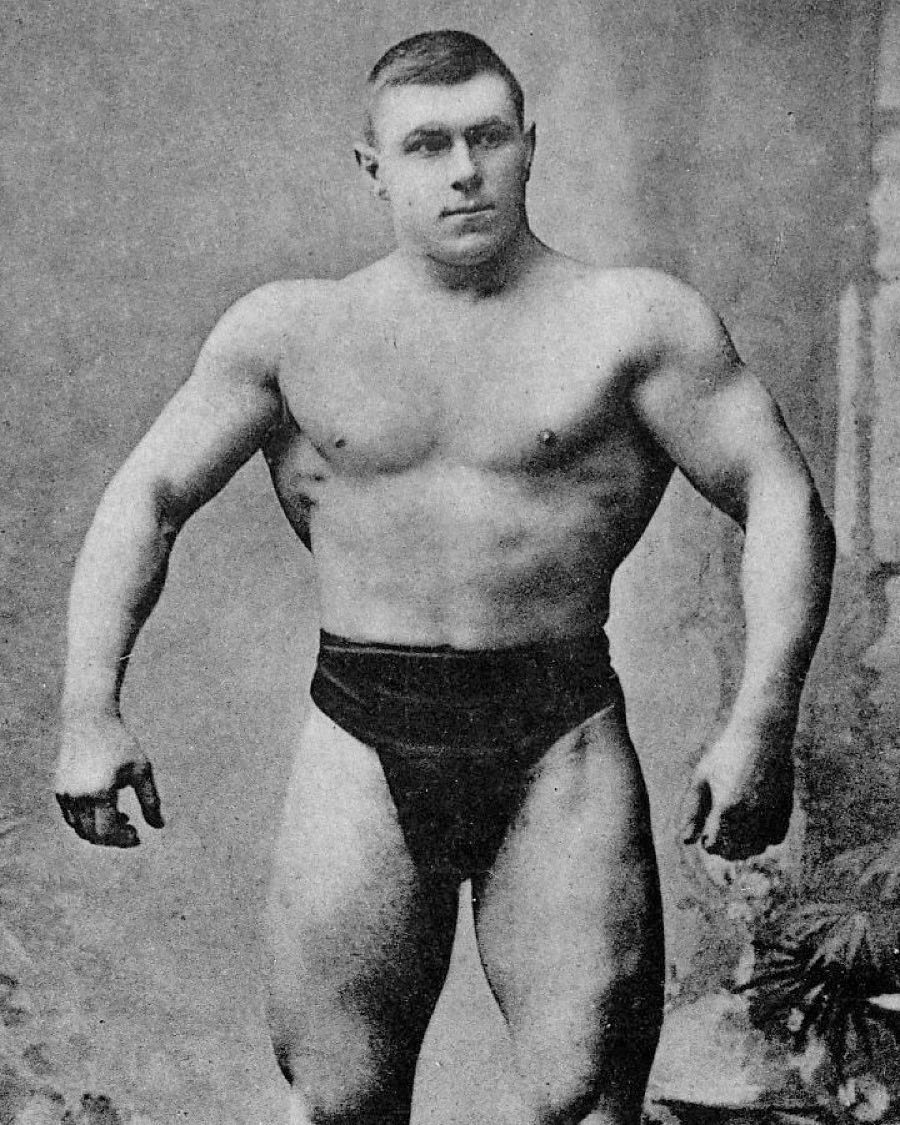 Record Bench Part - 44: Before The Well Known And Modern Day Bench Press Was Around, The First  Incarnation Was The Pullover And Press; Popularized By Georg Hackenschmidt  (pictured) ...